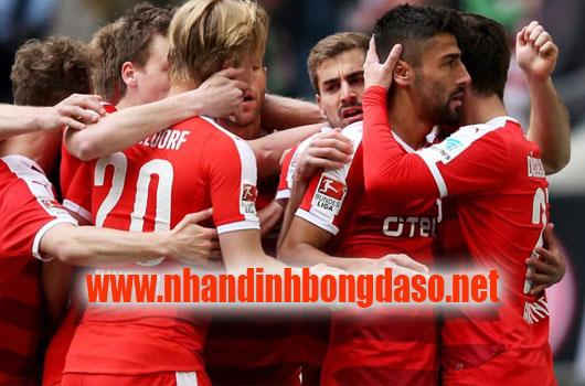 Fortuna Dusseldorf vs FC Erzgebirge Aue 2h45 ngày 31/10 www.nhandinhbongdaso.net