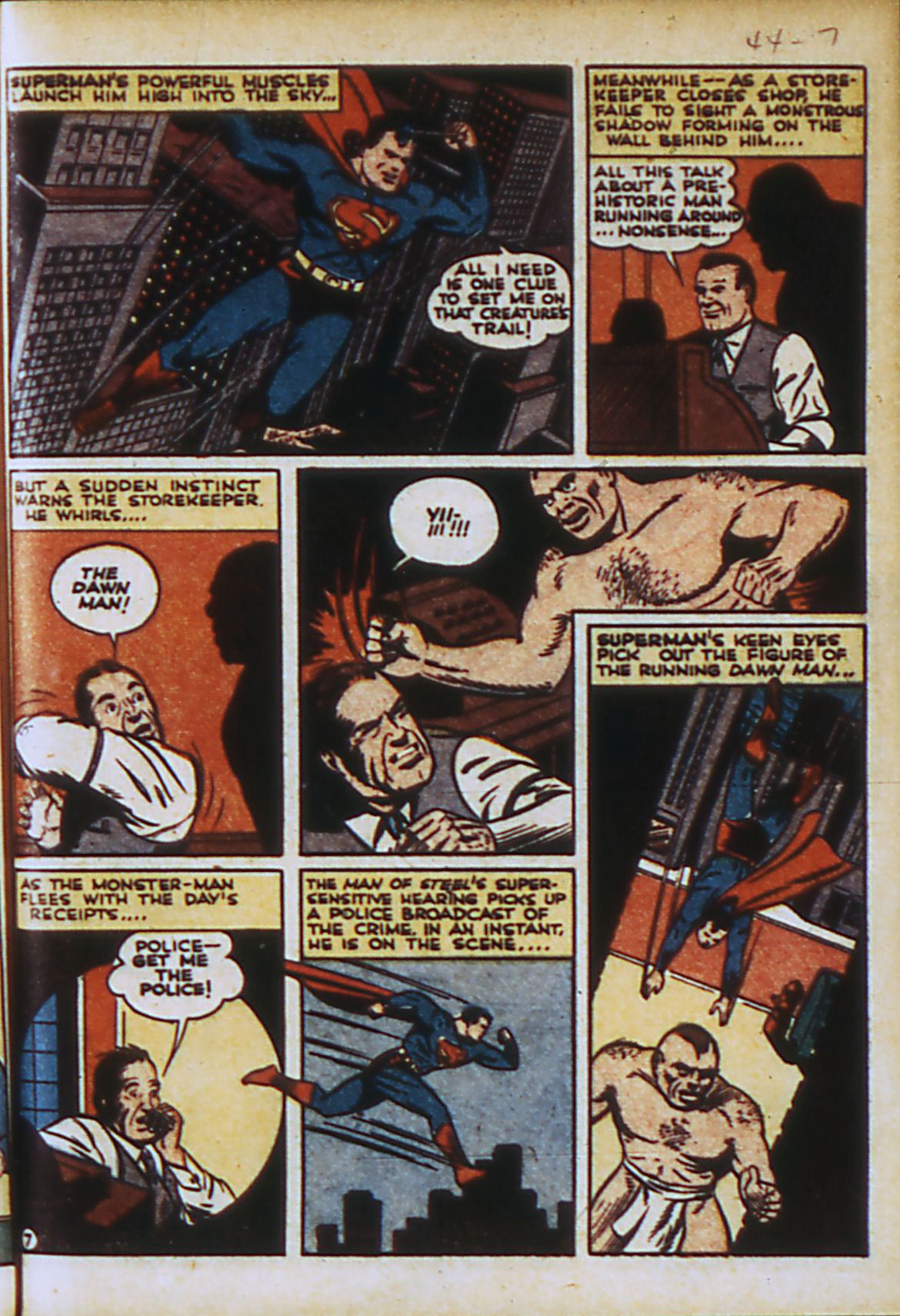 Read online Action Comics (1938) comic -  Issue #44 - 10