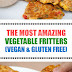 The Most Amazing Vegetable Fritters (Vegan & Gluten Free)