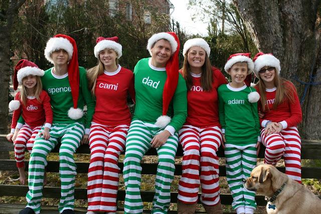 7e1d178a9a ... stable quality 06e3e e15c5 A Day at a Time Matching Christmas Pajamas  and Other Random Things ...