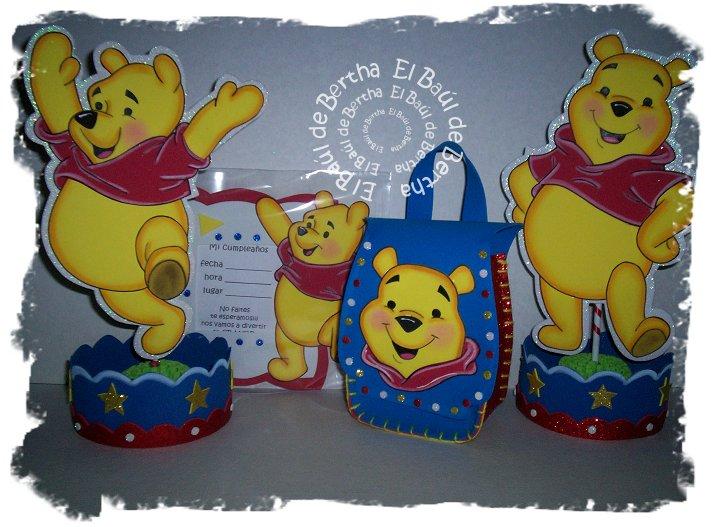 KIT Fiesta Infantil con Winnie Pooh Winnie%2BPooh%2BKit%2BFiesta%2BInfantil