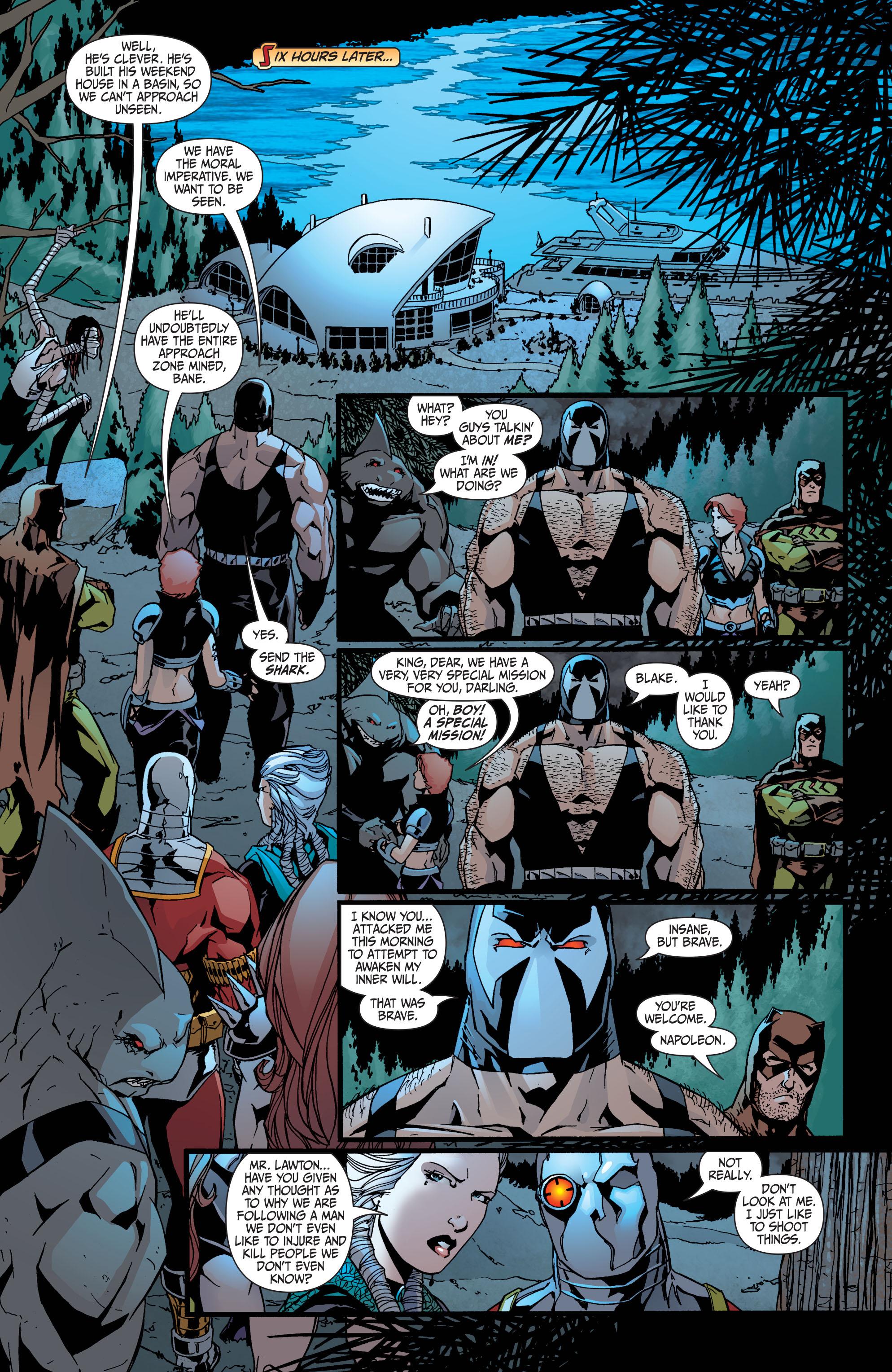 Read online Secret Six (2008) comic -  Issue #35 - 12
