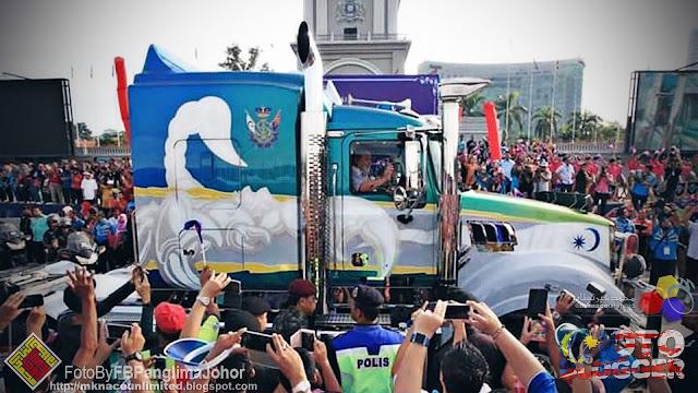 Kembara Mahkota Johor 2016 : Hari Pertama