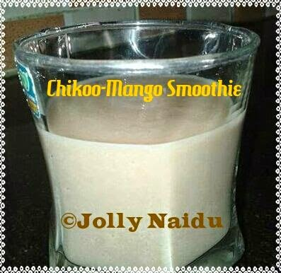 Chikoo-Mango Smoothie Recipe