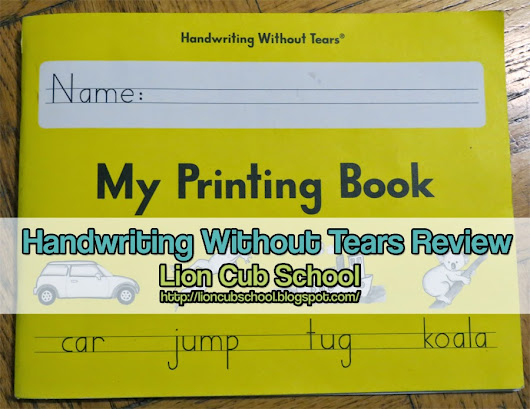 Curriculum Review: My Printing Book Grade 1