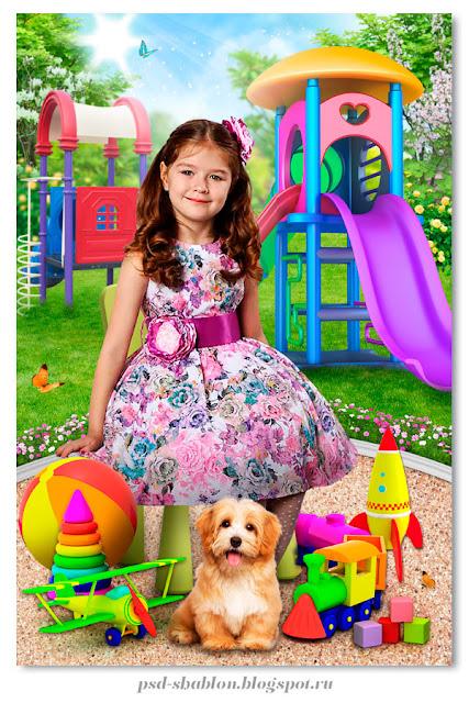 выпускной портрет для детского сада