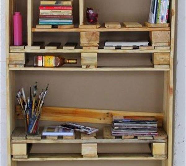 Mueble estanter a de palets - Estanterias de palet ...