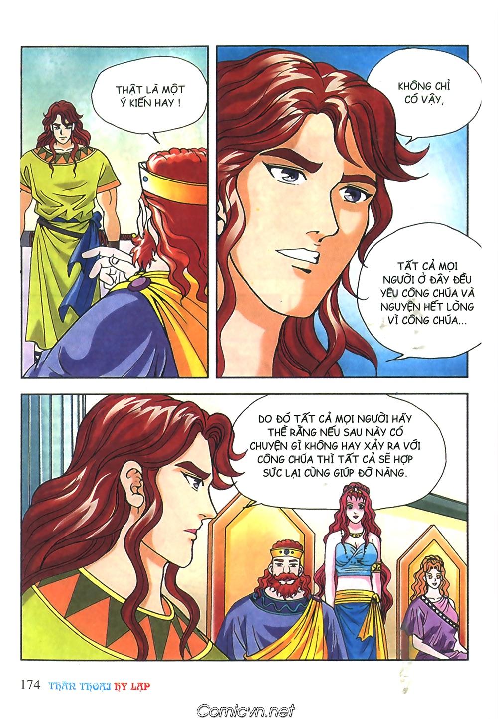 Thần Thoại Hy Lạp Màu - Chapter 51: Nàng công chúa Helen - Pic 13