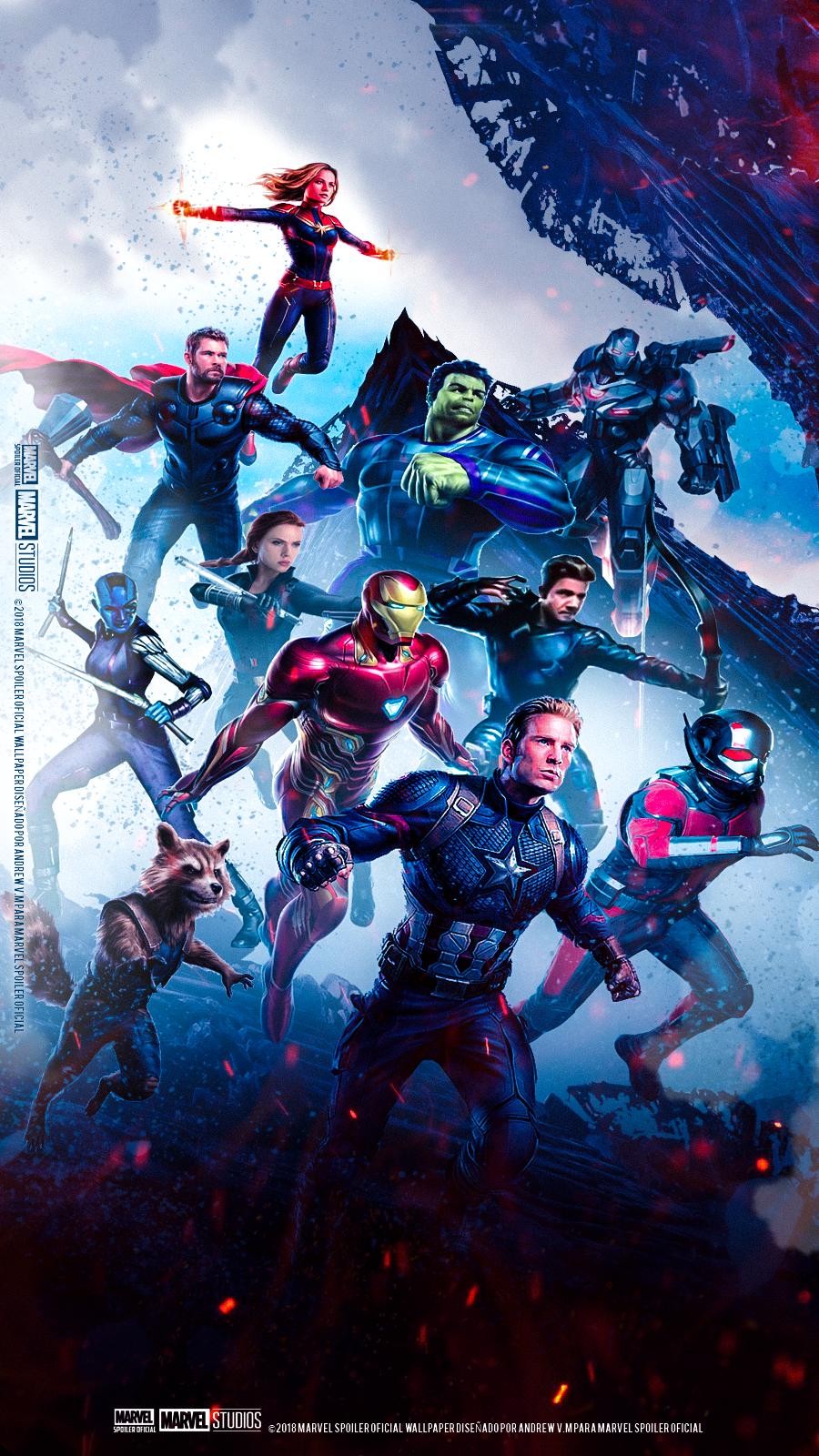 Avengers Endgame Poster Wallpaper Avengers Endgame Full