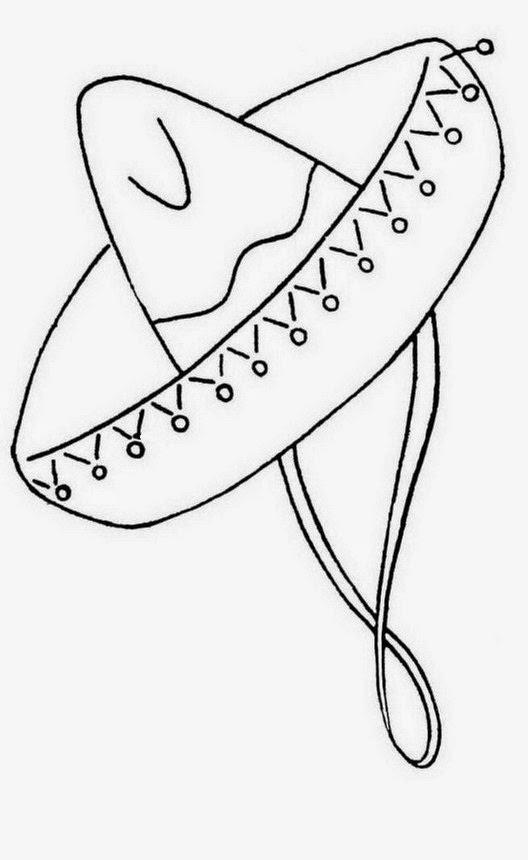 Beautiful Sombrero Cordobes Para Colorear Coloring Ws c80c022eb75f