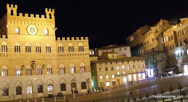 Siena, Itália: Piazza del Campo