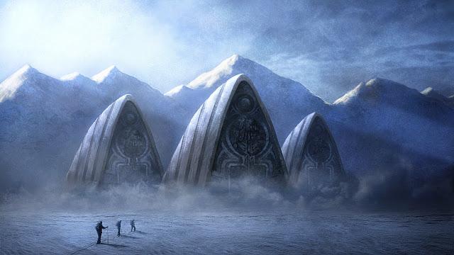 Lost Civilization in Antartica
