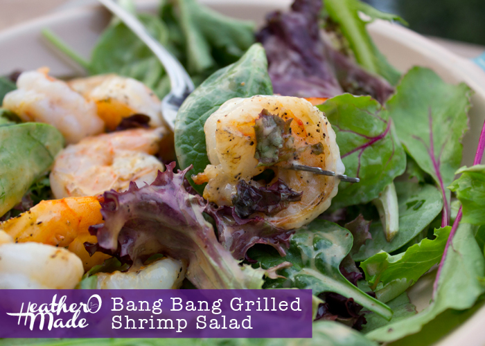 Bang Bang Grilled Shrimp Salad. recipe. bonefish grill shrimp. dinner. lunch. salad.