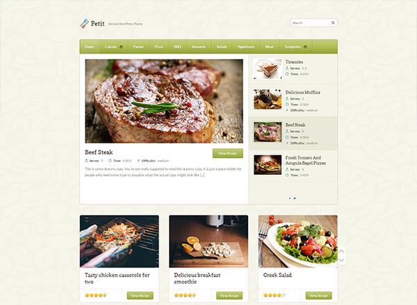 Petit Blogging WordPress Theme