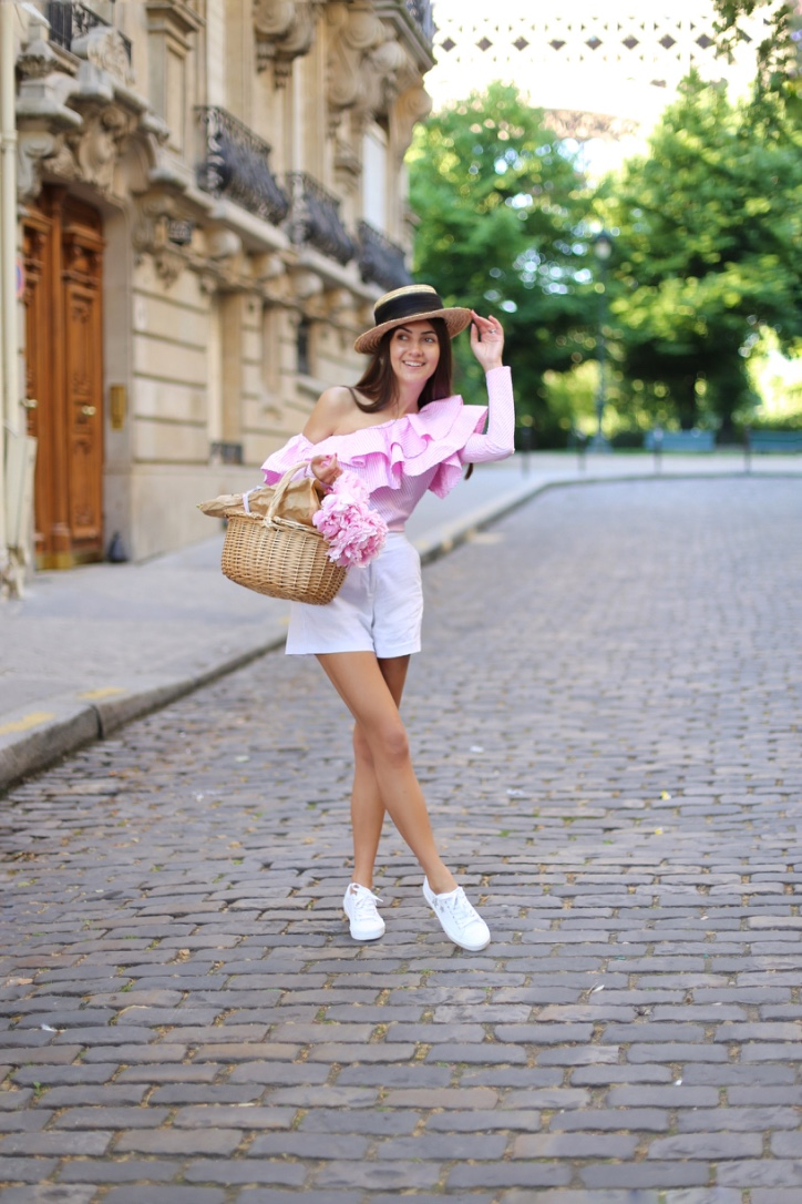 paris in bloom, galina thomas for chicwish