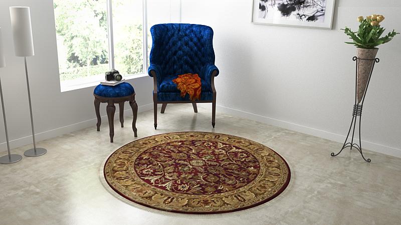 Handmade Kashmiri Carpet