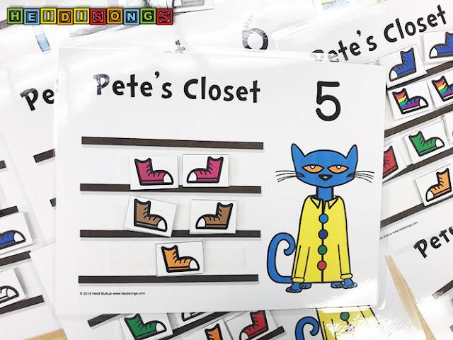 pete the cat match sets