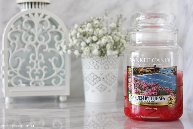 świeca zapachowa yankee candle garden by the sea
