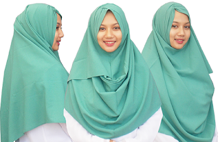 Model Pashmina Instan simple stylish dan Syar'i