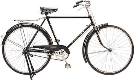 sepeda yang sering dikendarai oleh masyarakat zaman dahulu hingga tahun 1970 ini mulai tenar atau terkenal kembali karena pada 2000an berkat