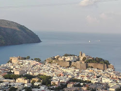 Webcam panoramica su Lipari centro