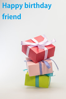 birthday image for friends with three gift pack