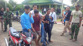 Greget .. 2 Begal Nekat Jarah Motor Komandan Pleton TNI di Lampung - Commando