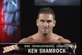 WWE / WWF Judgement Day 1998: In Your House 25 - Ken Shamrock defended the Intercontinental Championship against Mankind