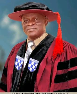 Professor Emmanuel Onimke  Ingwu