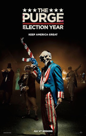 Poster Of The Purge: Election Year 2016 In Hindi Bluray 720P Free Download