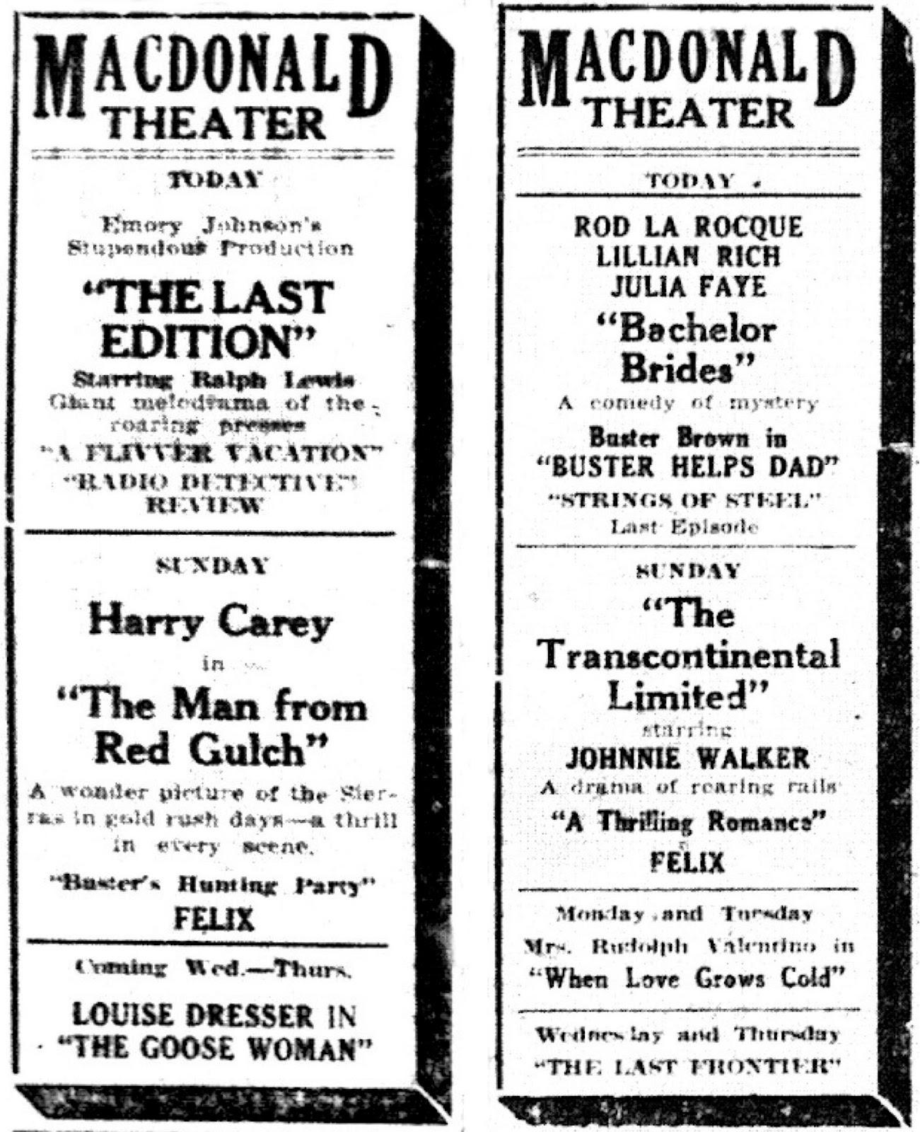 Lost Movie Theatres of Richmond California: 2014