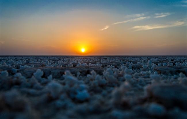 Sun and salt