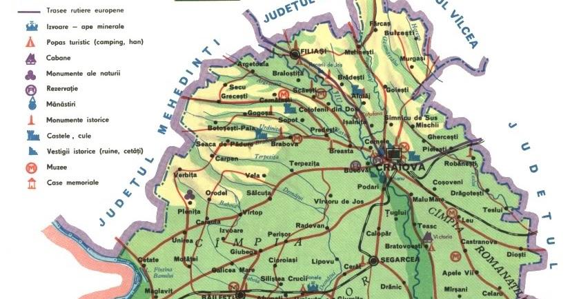 Romania Live Harta Turistica Dolj Live Webcam Craiova Bailesti