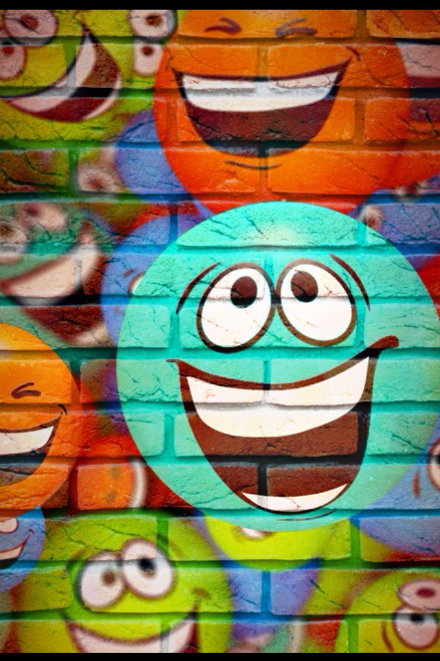 iPhone Graffiti Wallpaper