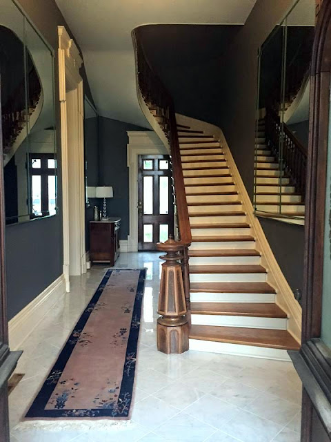 historic mansion rehab and remodeling project
