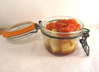 Ensalada de patata con vinagreta de tomates