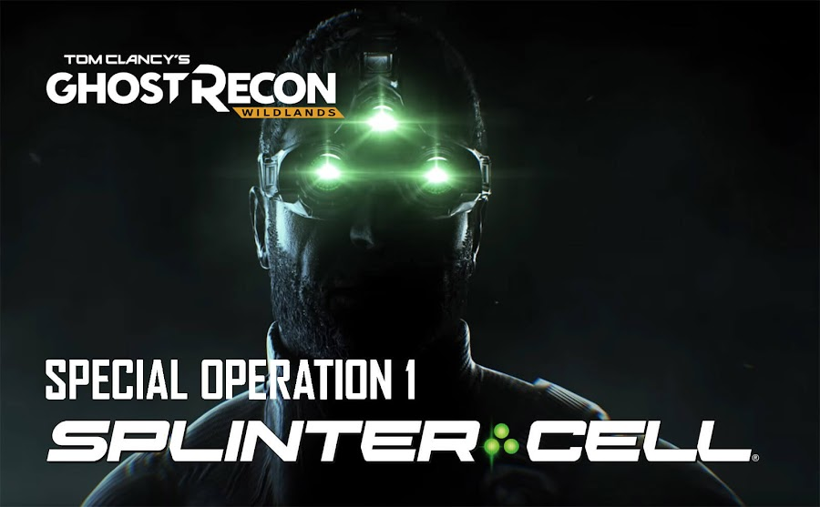 ghost recon wildlands splinter cell
