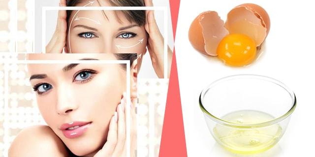 ev yapımı doğal yumurta botoksu