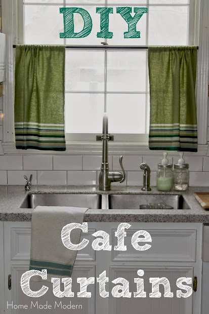 diy cafe curtains pinterest