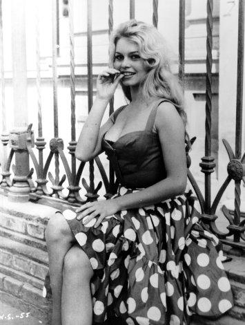 Morningstar Pinup Brigitte Bardot
