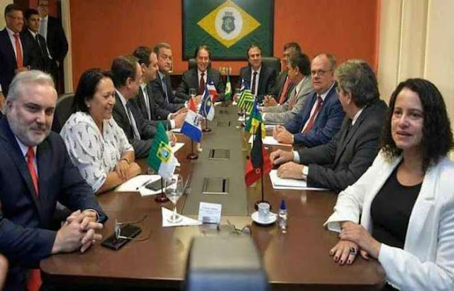 Governadores eleitos do Nordeste apresentam suas prioridades a Bolsonaro
