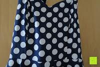 Muster: VKStar® Vintage 50er 60er Tupfe Neckholder Retro Cocktailkleid Rockabilly Audrey Hepburn Swing Kleid Kurz Damen Abendkleid