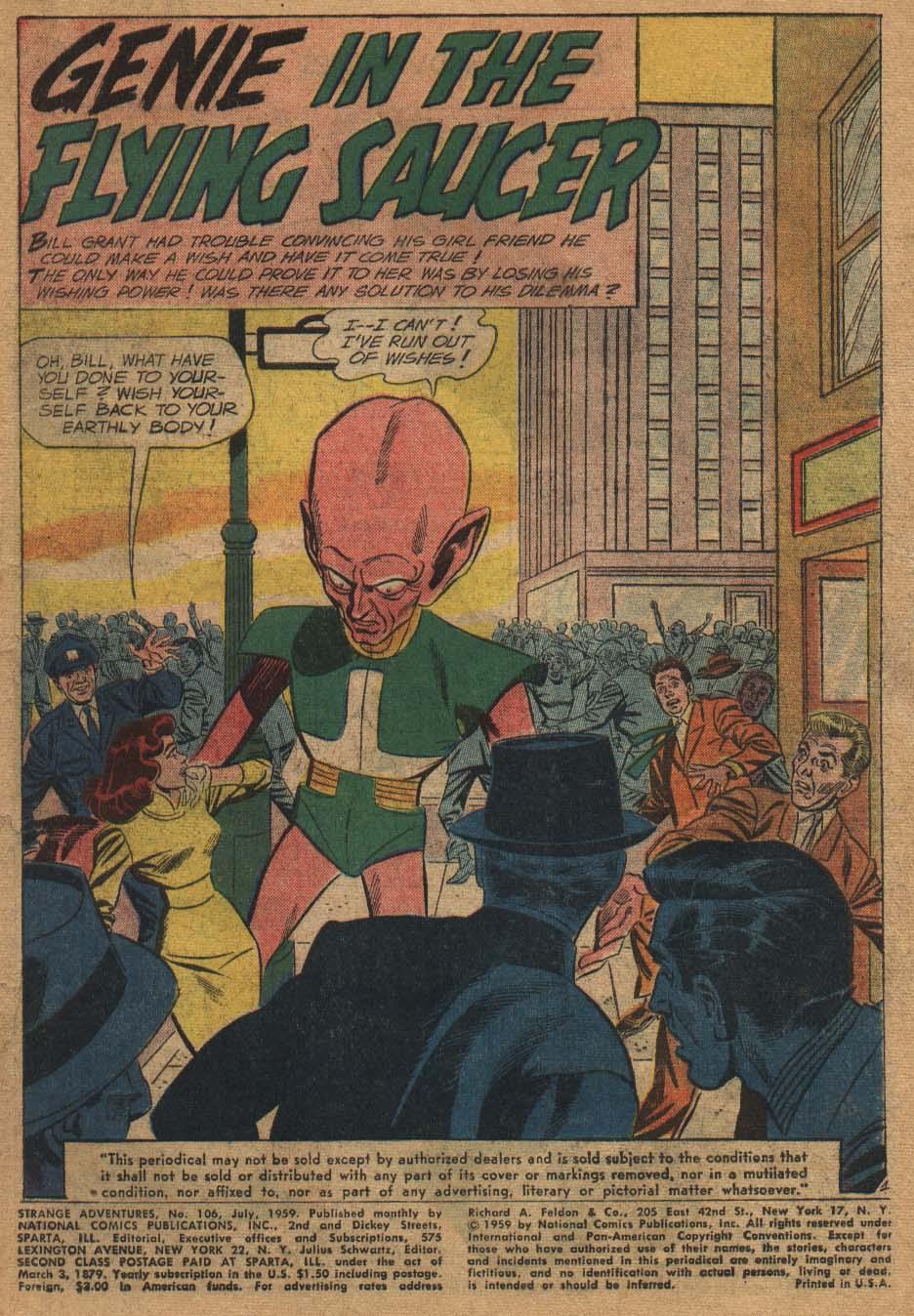 Strange Adventures (1950) issue 106 - Page 3