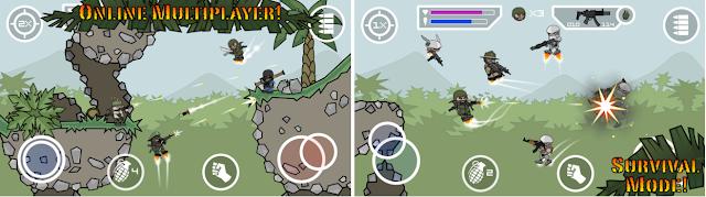 Doodle Army 2 Mini Militia v2.2.19 unlocked