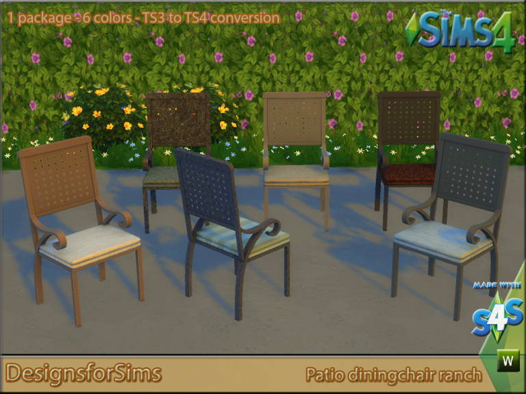 My sims 4 blog ts3 outdoor clutter and patio conversions for Sims 4 exterior design