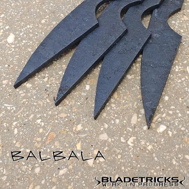 Bladetricks fast draw Balbala Pakal knife