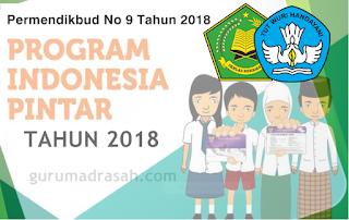 Permendikbud Nomor 9 Tahun 2018 tentang Juknis Program Indonesia Pintar