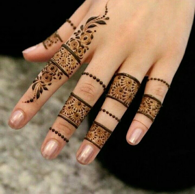 Finger Mehndi Design Images
