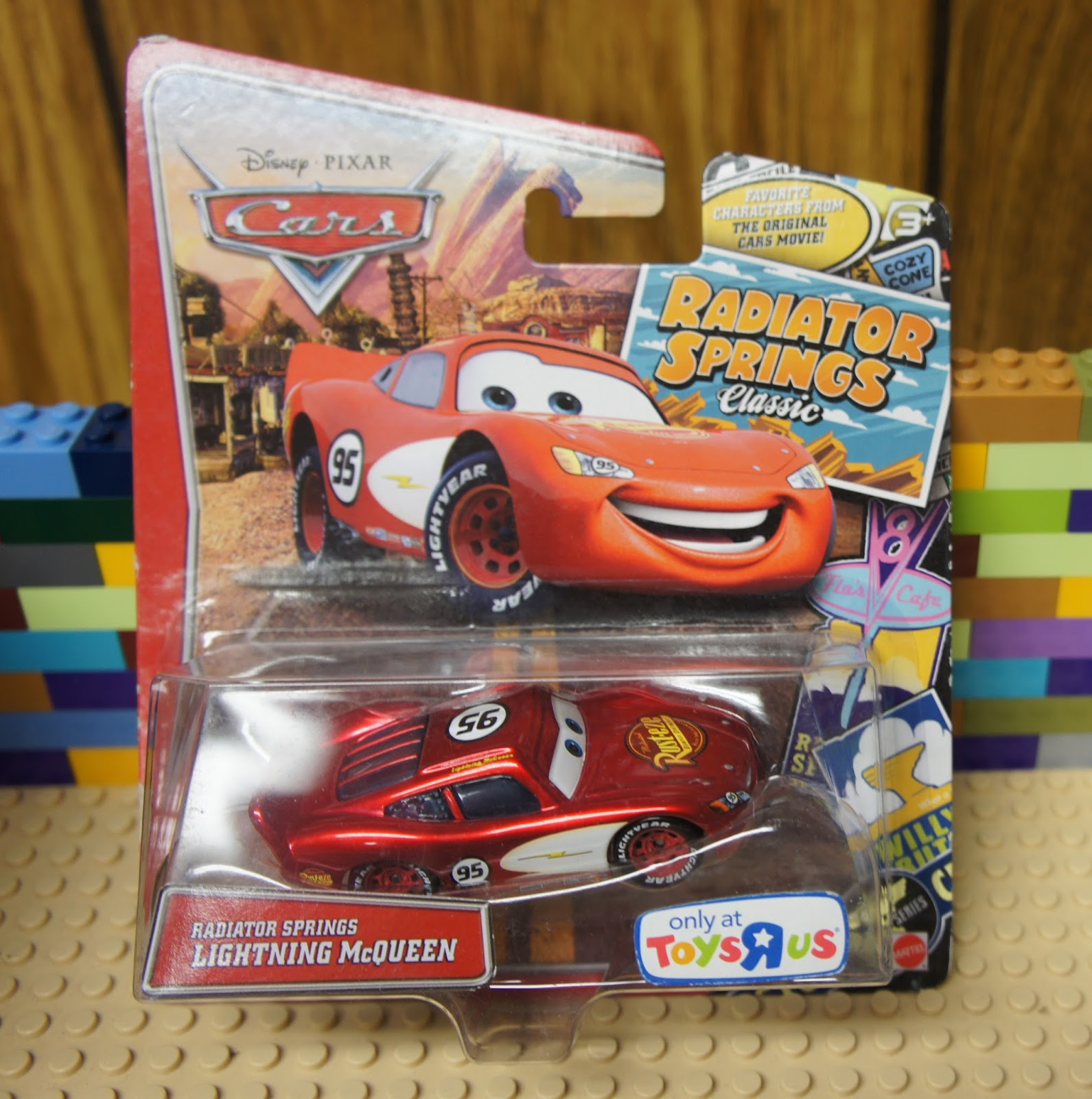 Disney Pixar Cars Radiator Springs Lightning Mcqueen Diecast Vehicle Chiayo Snack Energy Ballcup Mix