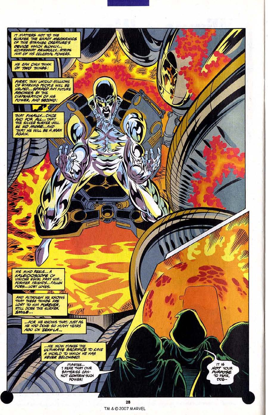 Read online Silver Surfer (1987) comic -  Issue #106 - 30